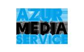 azur-media-service-logocouleur - partenaires des aigles de nice