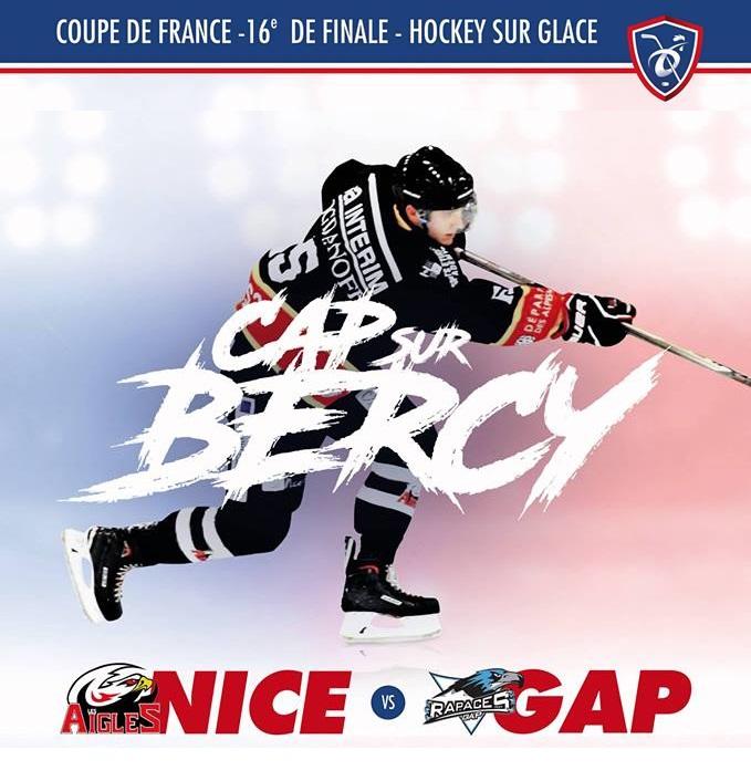 Début de la Coupe de France de Hockey !